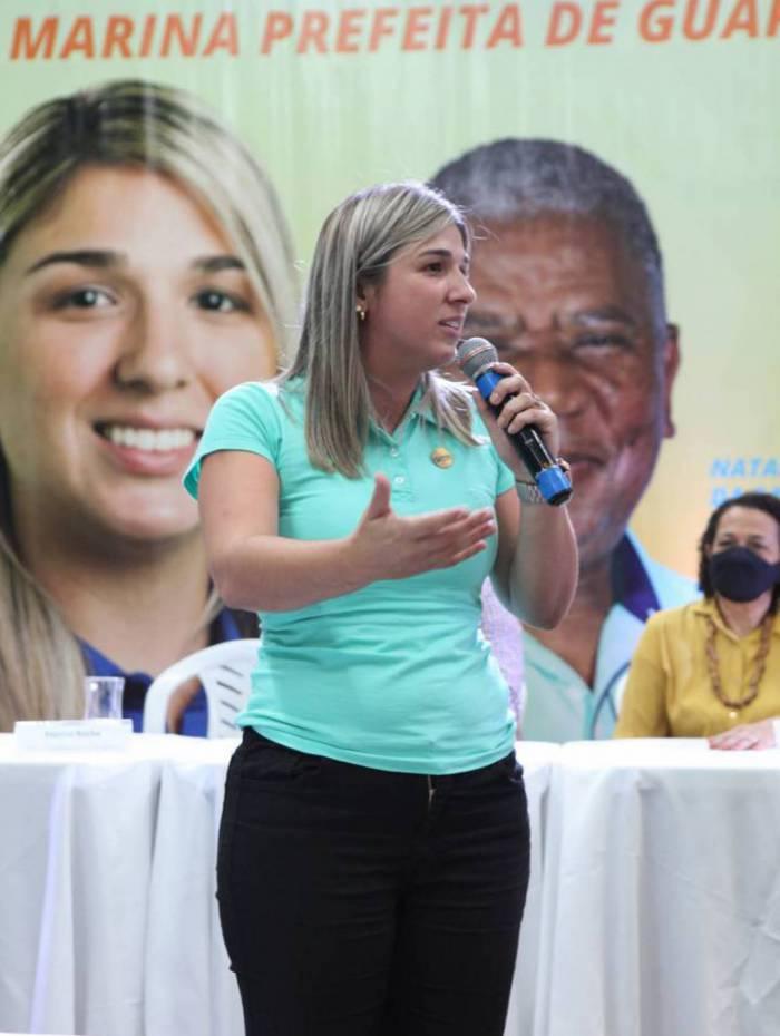 Marina Rocha larga na frente na disputa eleitoral em Guapimirim