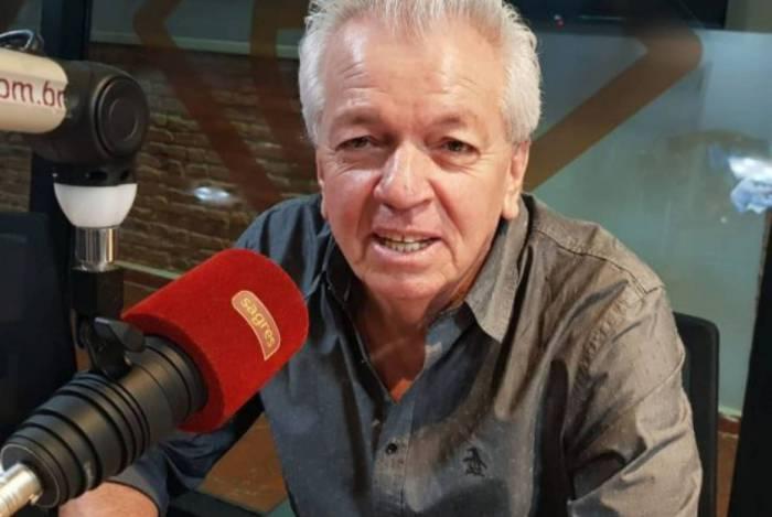 Aos 61 anos, Adolfo Campos trabalhava na Rádio Bandeirantes e em afiliada do SBT em Goiás