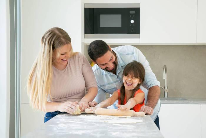 Para 41% dos brasileiros, é importante manter a cozinha como ponto de encontro para momentos em família