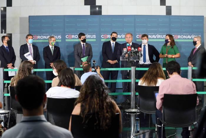 Frente da Reforma Administrativa lançou propostas oficialmente em evento no salão negro do Congresso