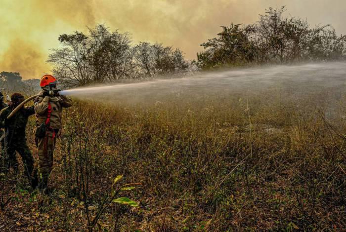 Operação Pantanal 2, combate ao incêndio na região