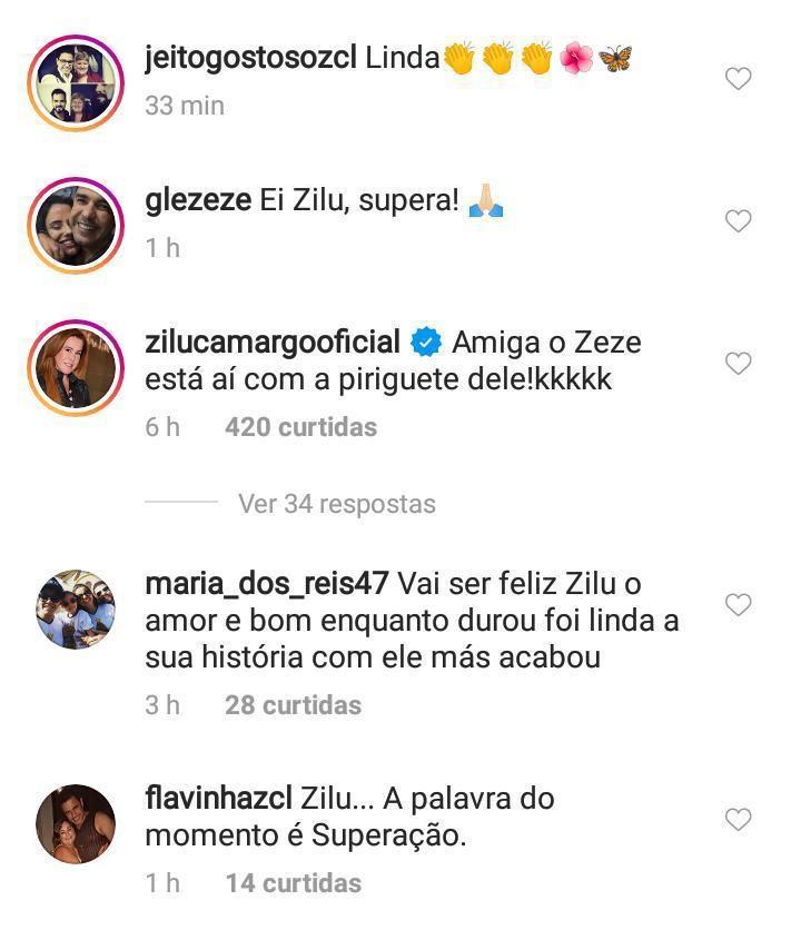 Zilu chama Graciele de 'periguete' na internet