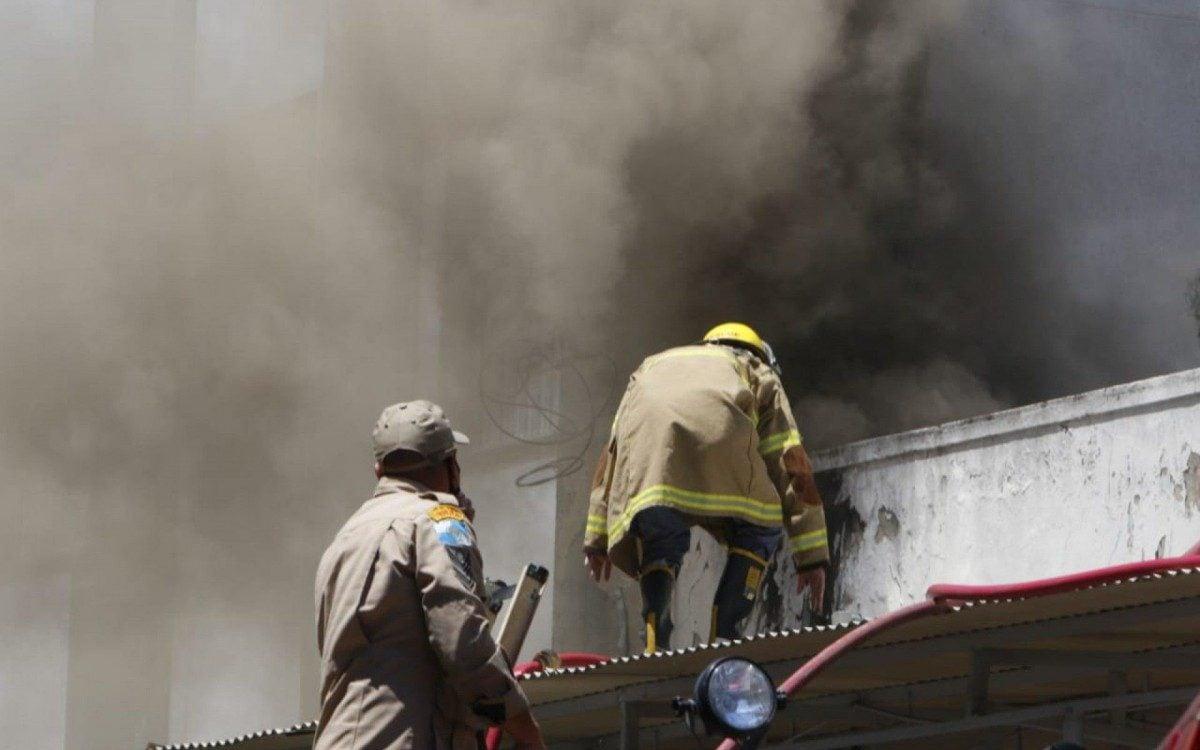 Incêndio atinge o Hospital Federal de Bonsucesso   Rio de Janeiro   O Dia