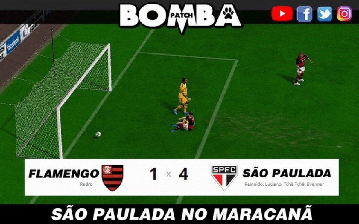 Flamengo é goleado pelo São Paulo e sofre com piadas na ...