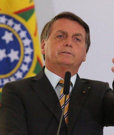 O Presidente Jair Bolsonaro, durante evento de lancamento da Retomada do Turismo. Aliança nacional que, com segurança e responsabilidade, busca acelerar a recuperação do setor e reduzir o impacto socioeconômico da Covid-19 após a paralisação das atividades.