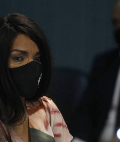 Deputada Flordelis presta depoimento na 3ª Vara Criminal de Niterói, 12º andar, no Fórum de Niterói