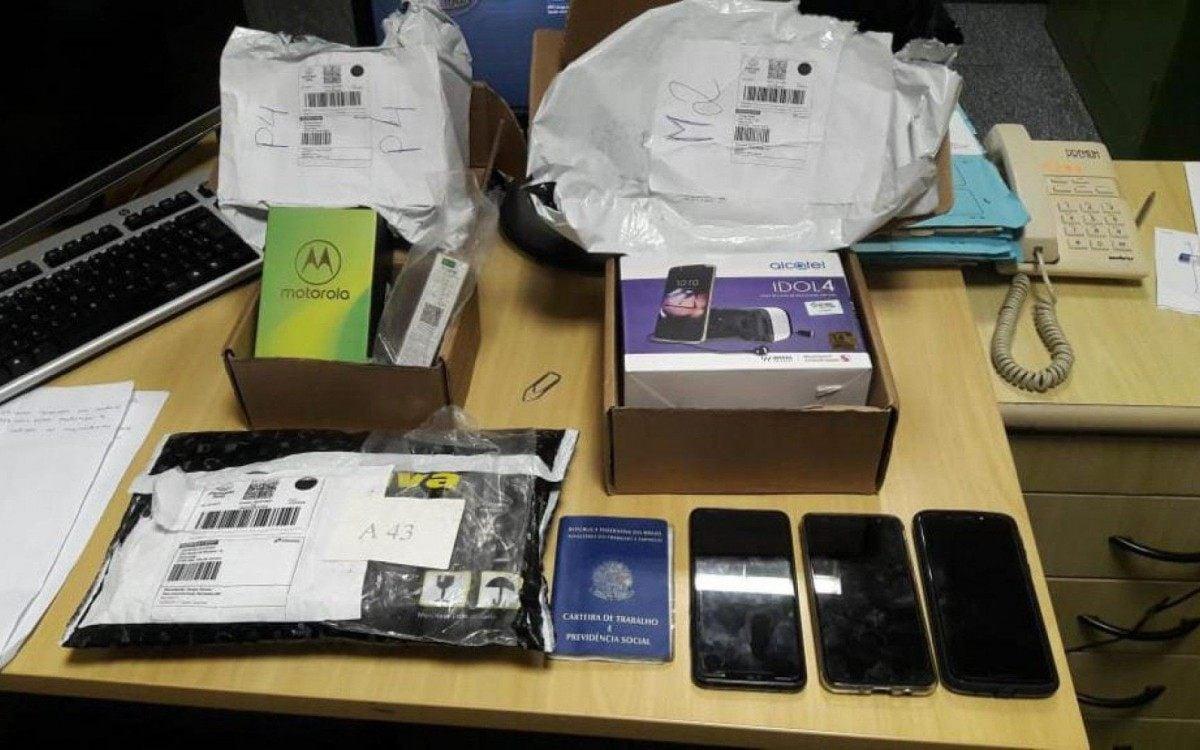 Operação da Polícia Federal mira quadrilha que frauda e desvia encomendas dos Correios - Divulgação
