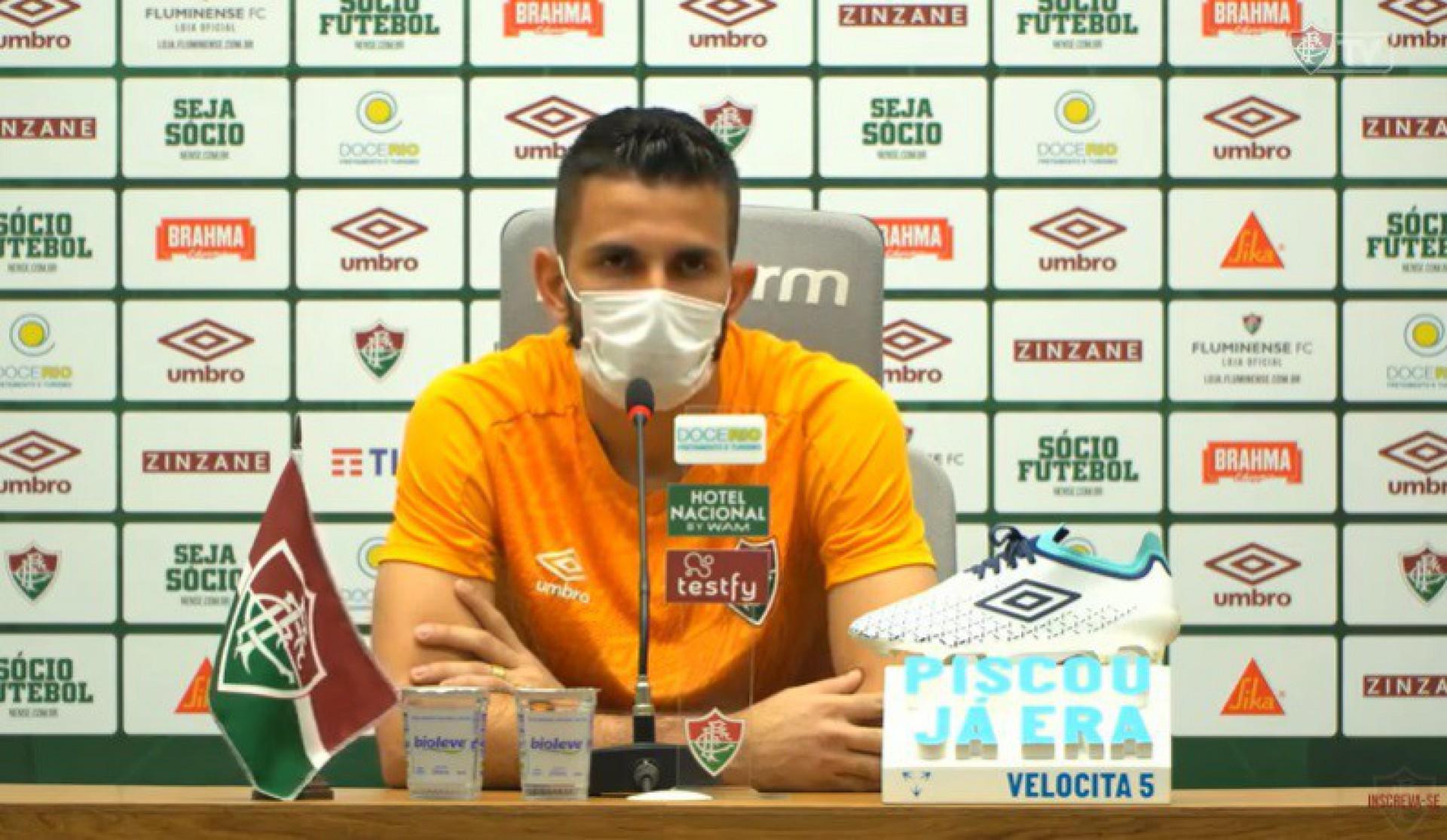 Marcos Felipe exalta vitória do Fluminense: 'Bela atuação'