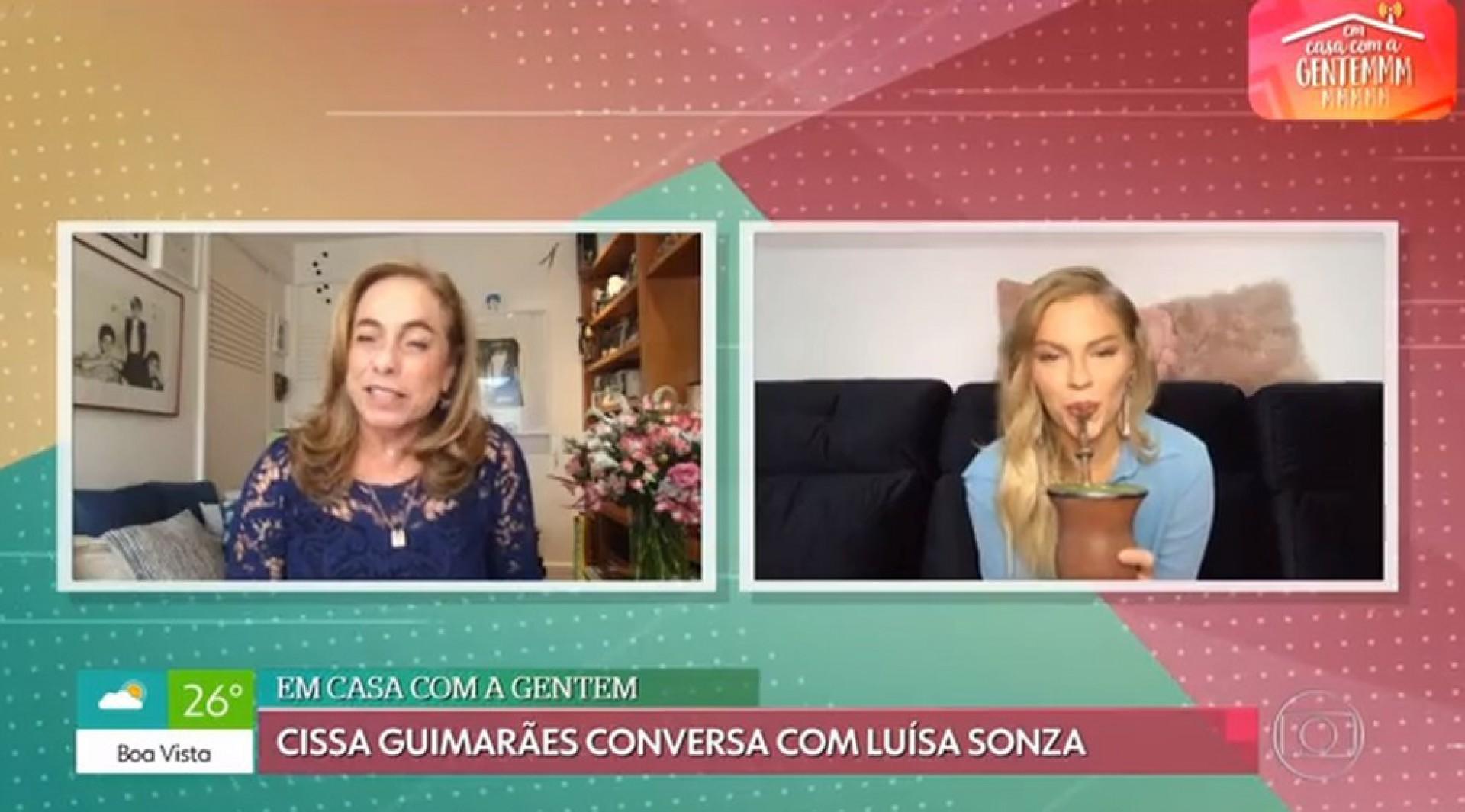 Entrevista de Luísa Sonza para Cissa Guimarães - Reprodução