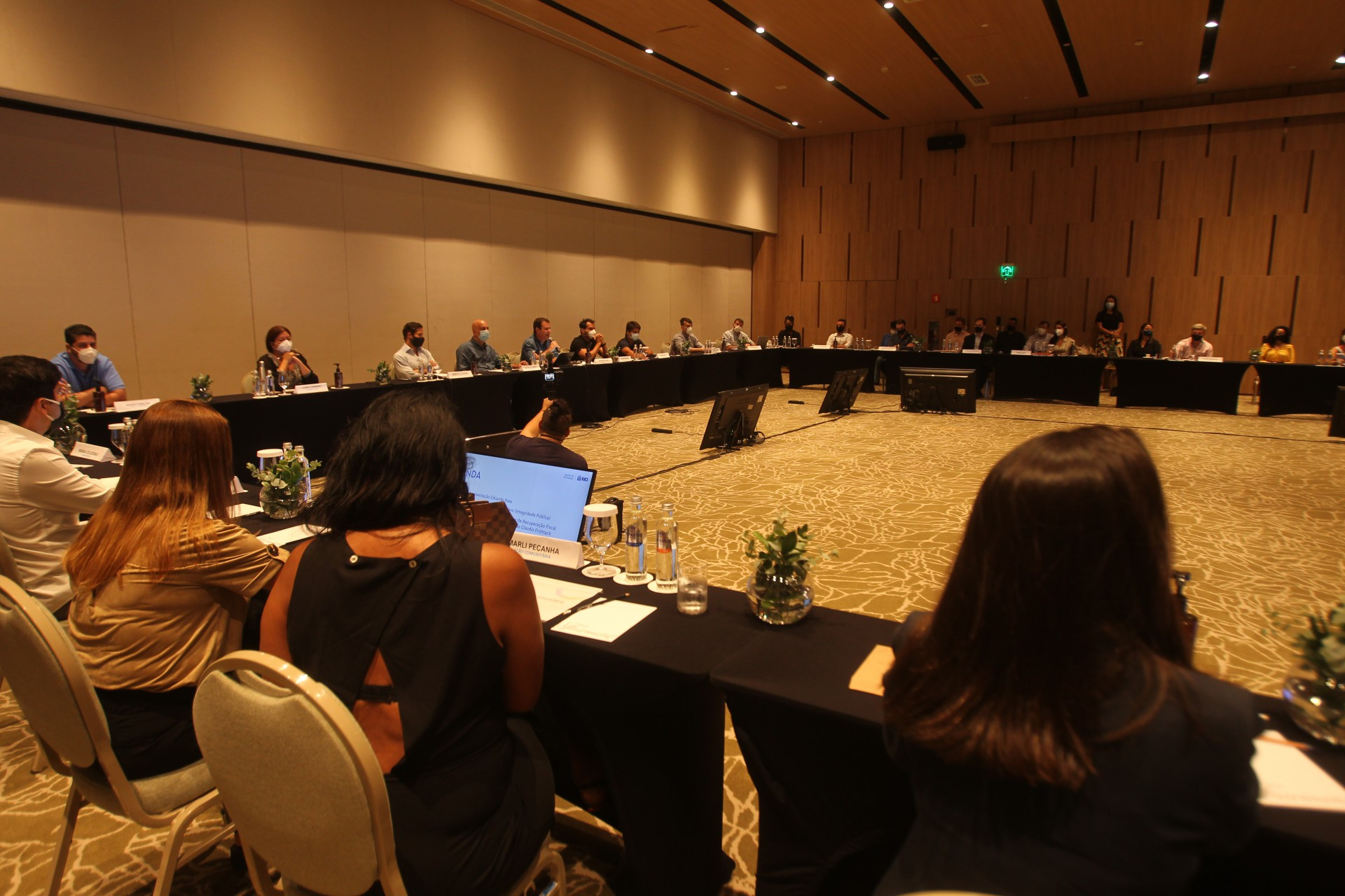 Reunião do prefeito eleito Eduardo Paes com seu secretariado - Estefan Radovicz / Agencia O Dia