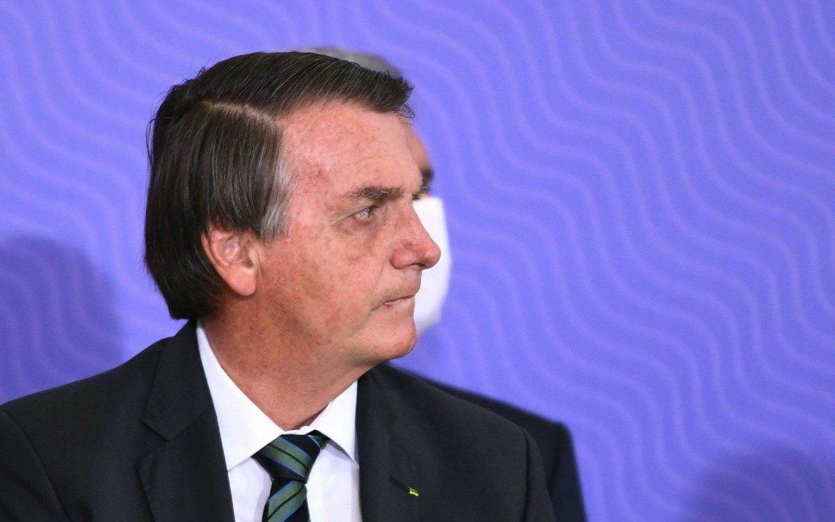 Presidente da República Jair Bolsonaro - AFP