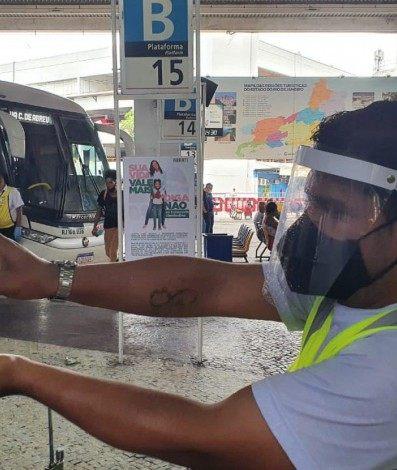 Na pandemia, movimentação na Rodoviária Novo Rio deve cair 50% durante festas de fim de ano