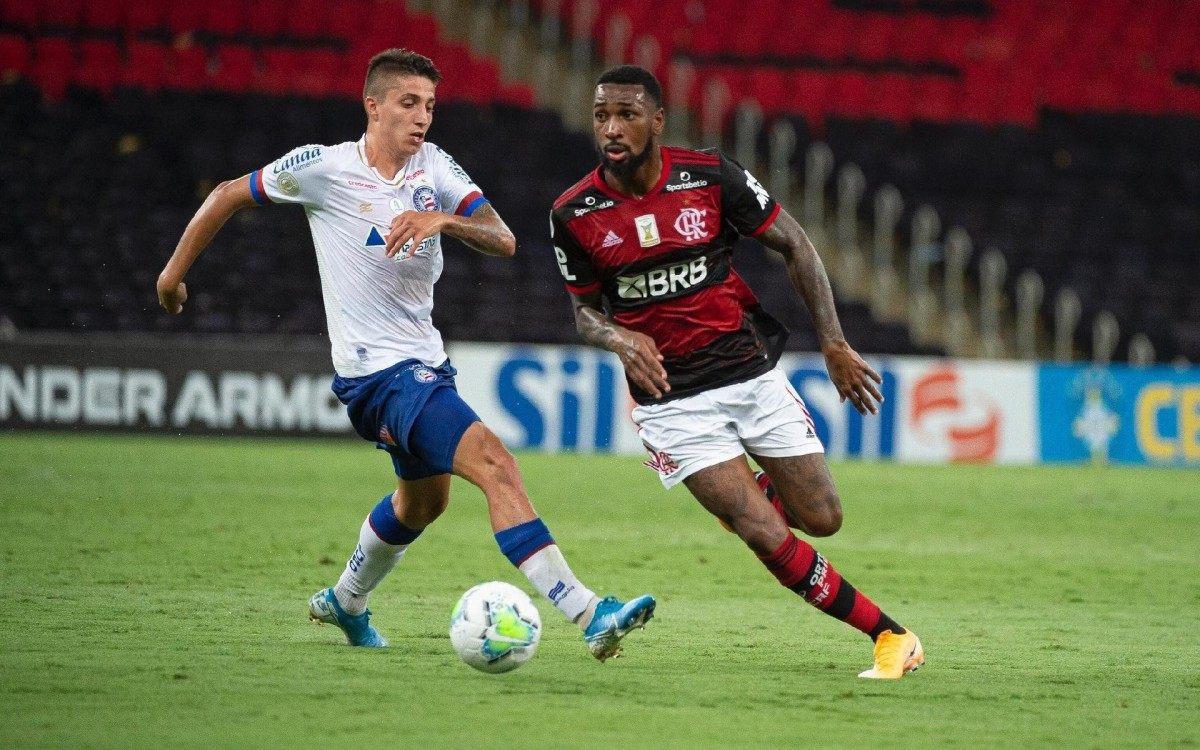 Gerson acusou Ramírez de racismo no jogo com o Flamengo - Divulgação