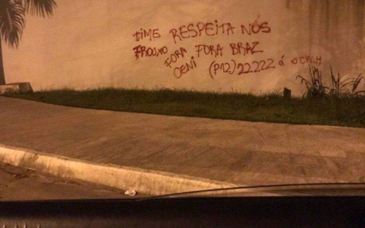Muro do Flamengo - Reprodução