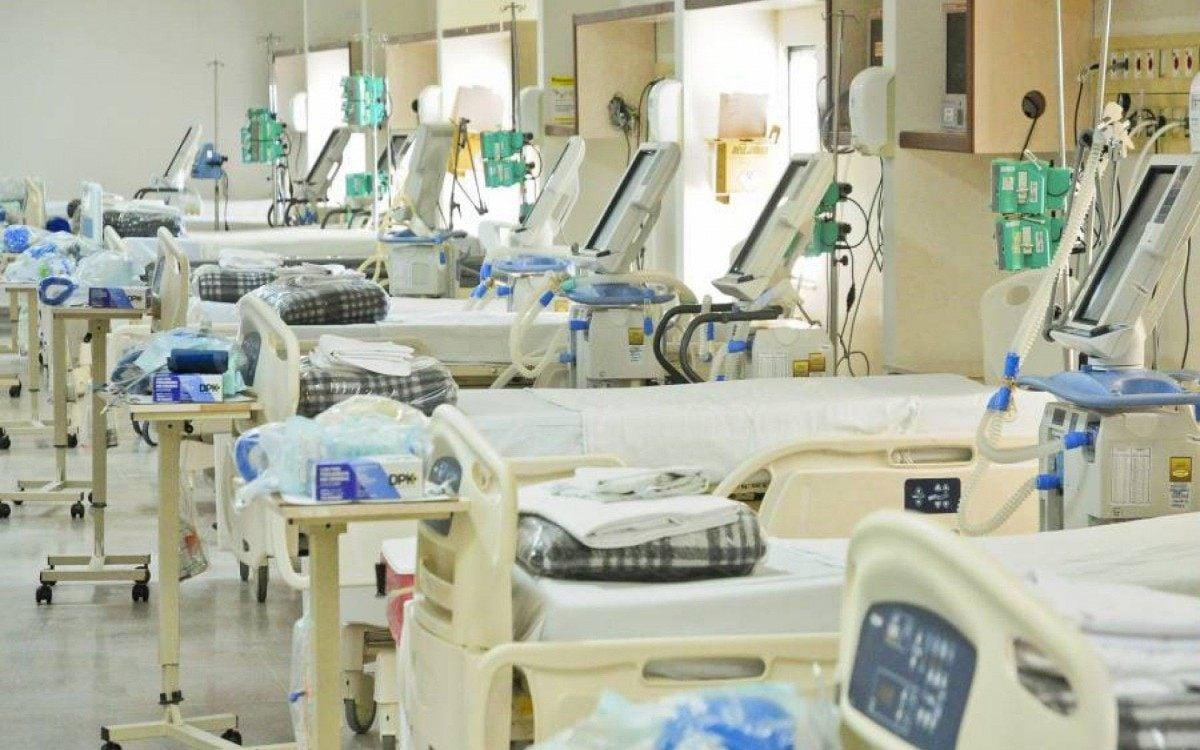 Leitos de UTI para pacientes com coronavírus