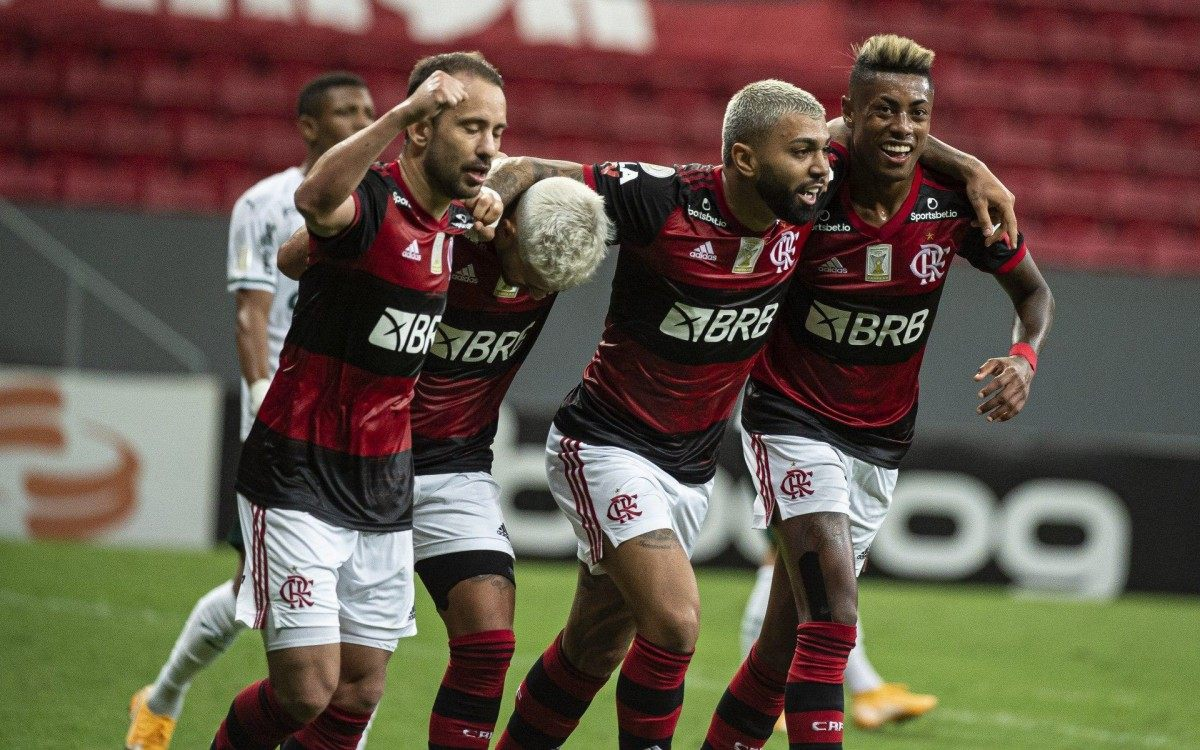 Flamengo luta pelo título do Brasileiro - Alexandre Vidal/Flamengo/Divulgação