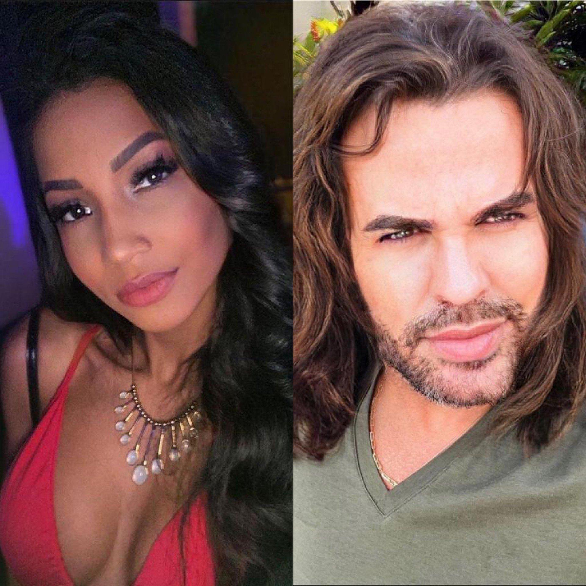 Gabriella Silva e Eduardo Costa vivem romance às escondidas - Reprodução Instagram