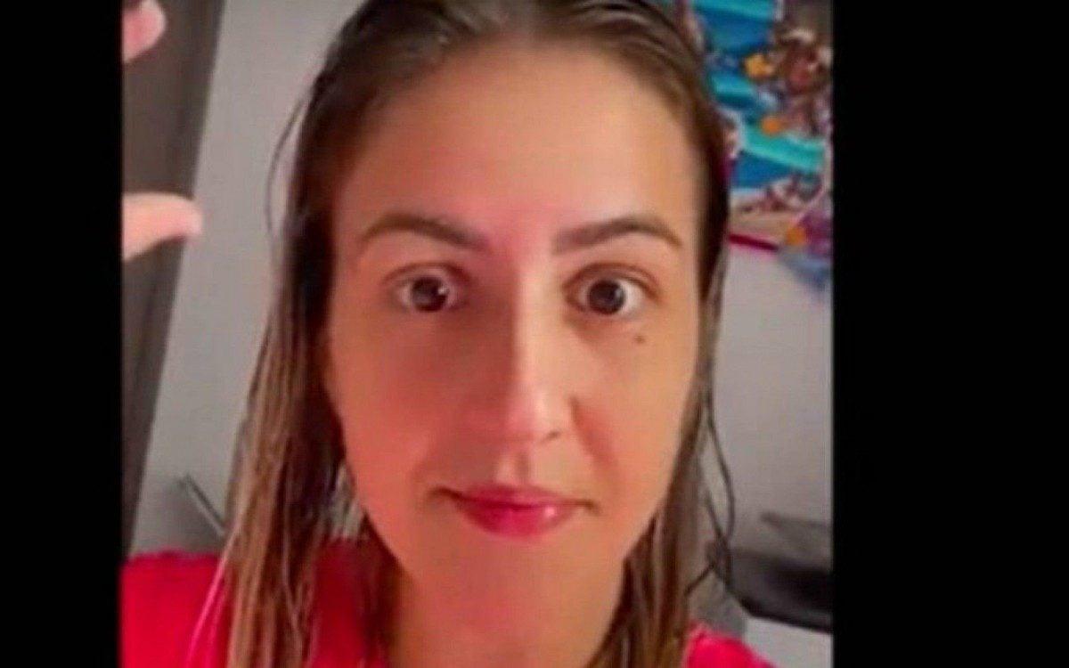 A enfermeira Nathanna Faria Ceshim está sendo investigada após debochar de vacina contra covid-19 - Reprodução