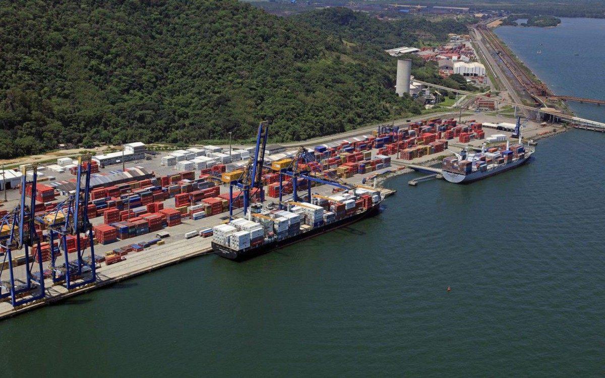 Porto de Itaguaí vai receber investimentos vultosos para dragagem, sinalização náutica, dentre outros aprimoramentos - Divulgação - 28/11/2010/Ministério da Infraestrutura