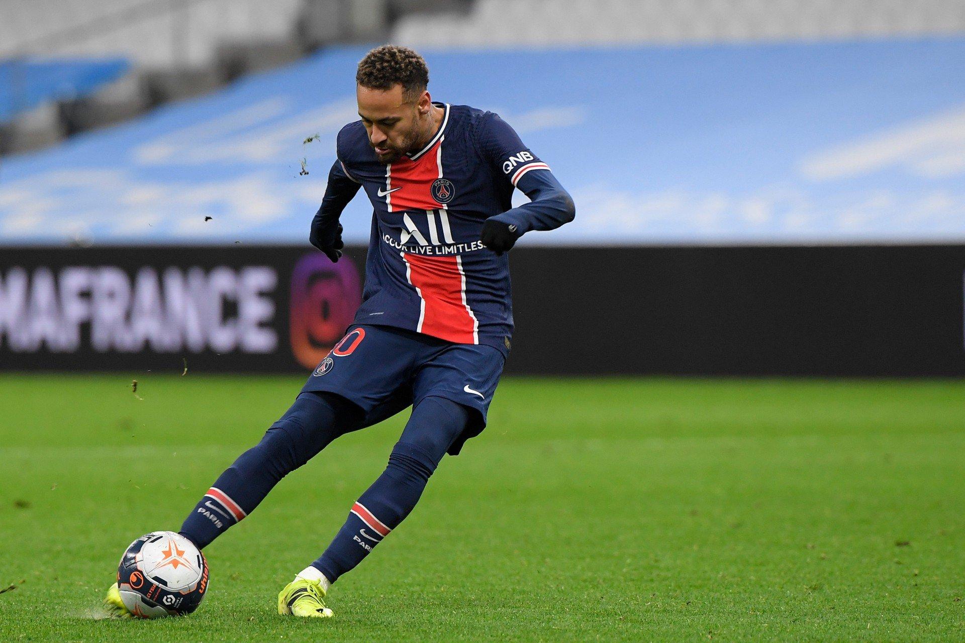 Neymar entra na segunda etapa e PSG derrota Olympique de ...