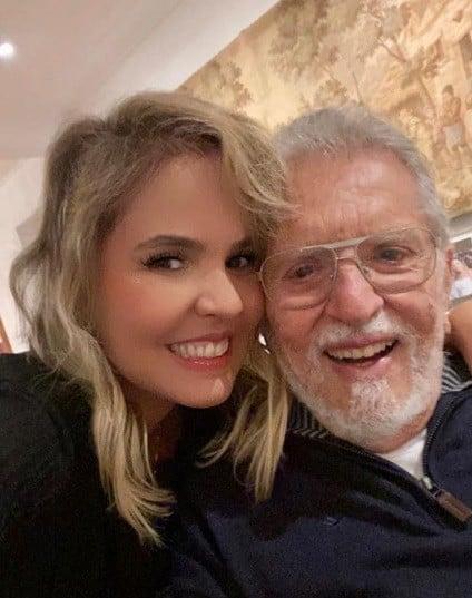 Carlos Alberto e Renata Domingues - Reprodução