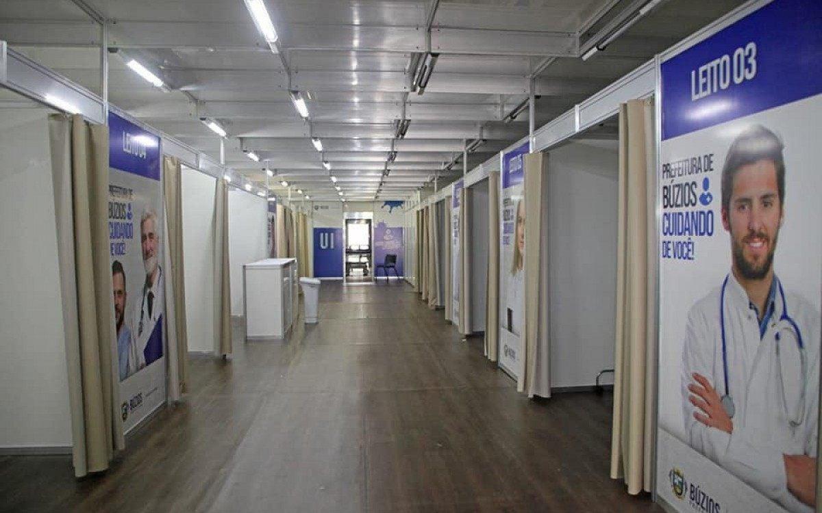 Centro de atendimento a Covid-19 em Búzios custa menos que a antiga tenda e ainda é Hospital de campanha