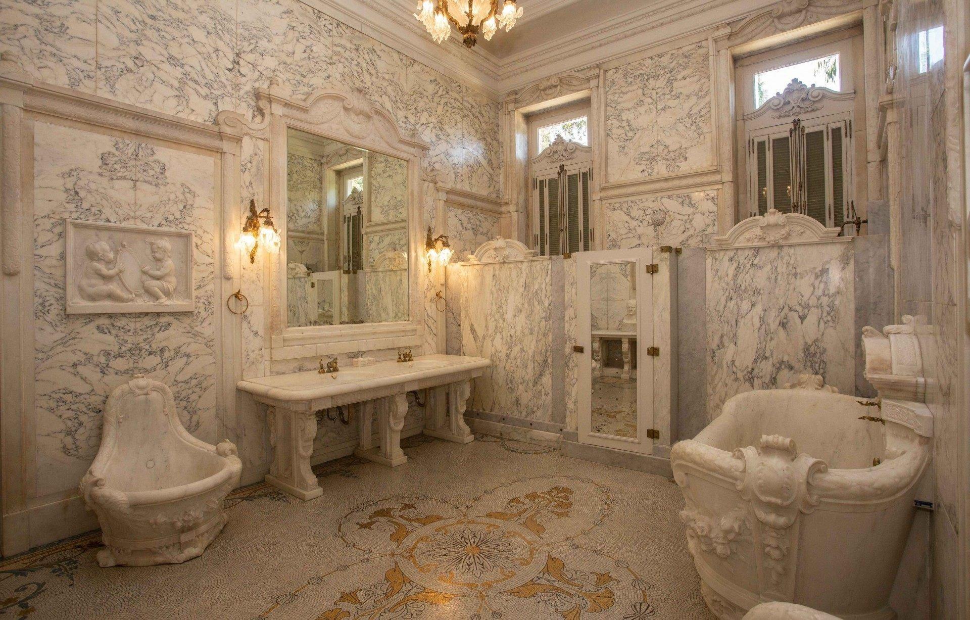 Banheiro do Palácio Laranjeiras - Rogerio Santana / Divulgação