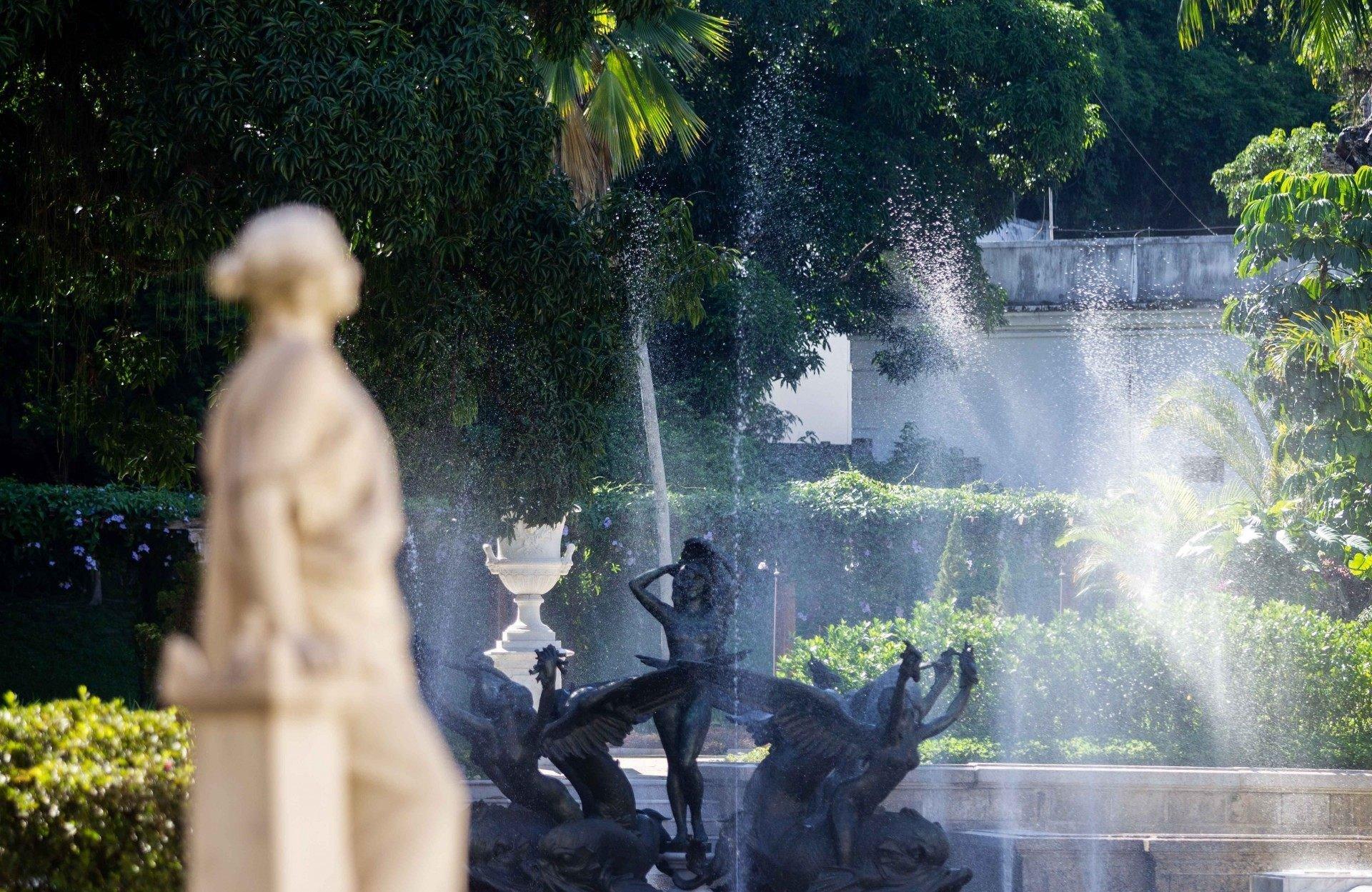 Chafariz do Palácio Laranjeiras - Rogerio Santana / Divulgação