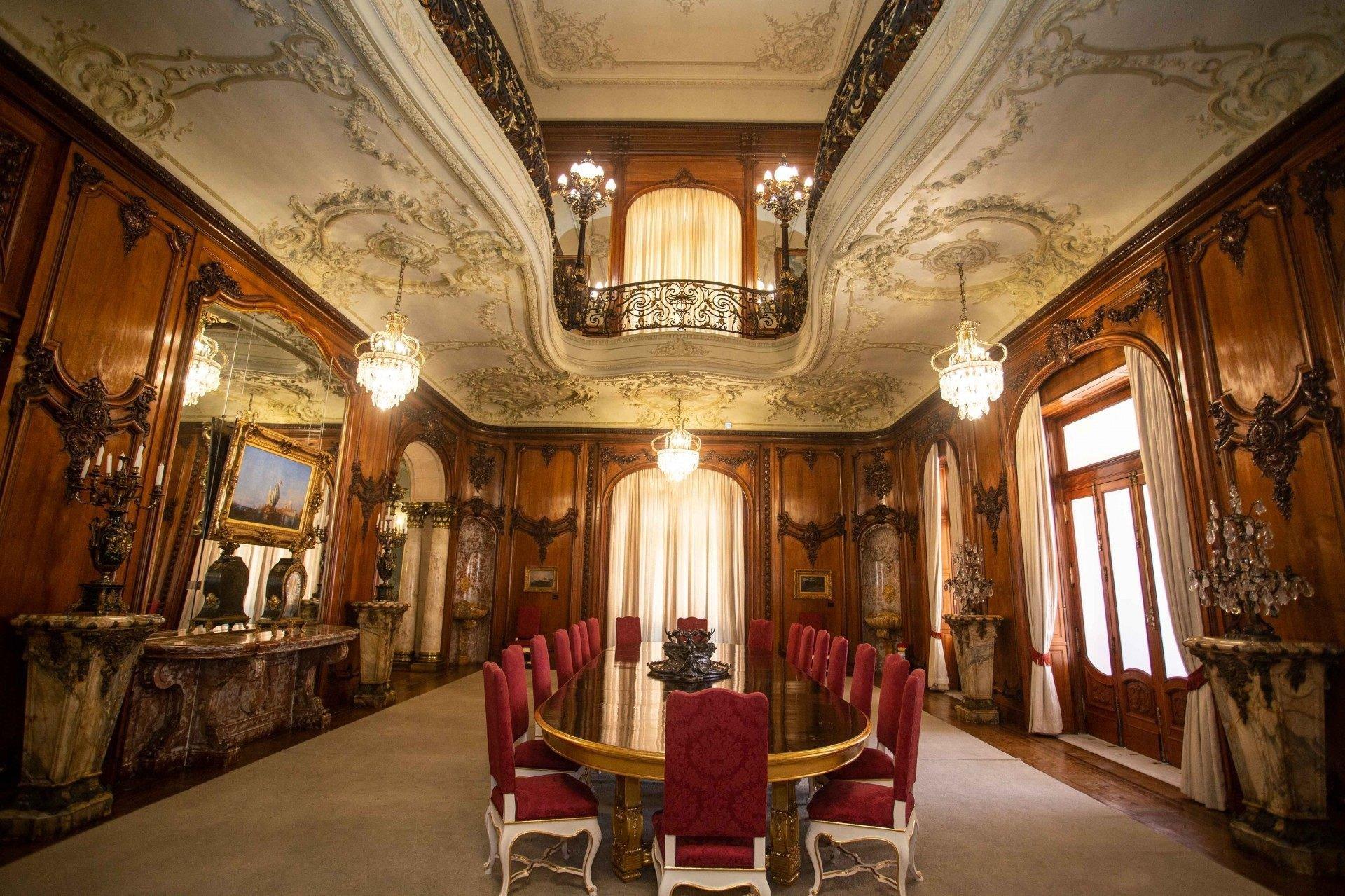 Interior do Palácio Laranjeiras - Rogerio Santana / Divulgação