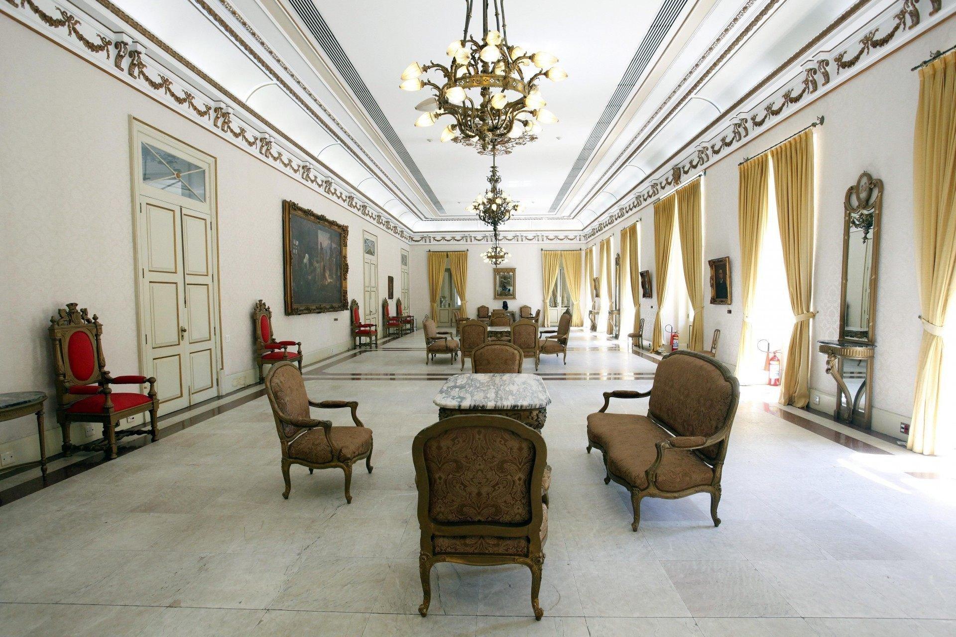 Salão Nobre do Palácio Guanabara - Divulgação