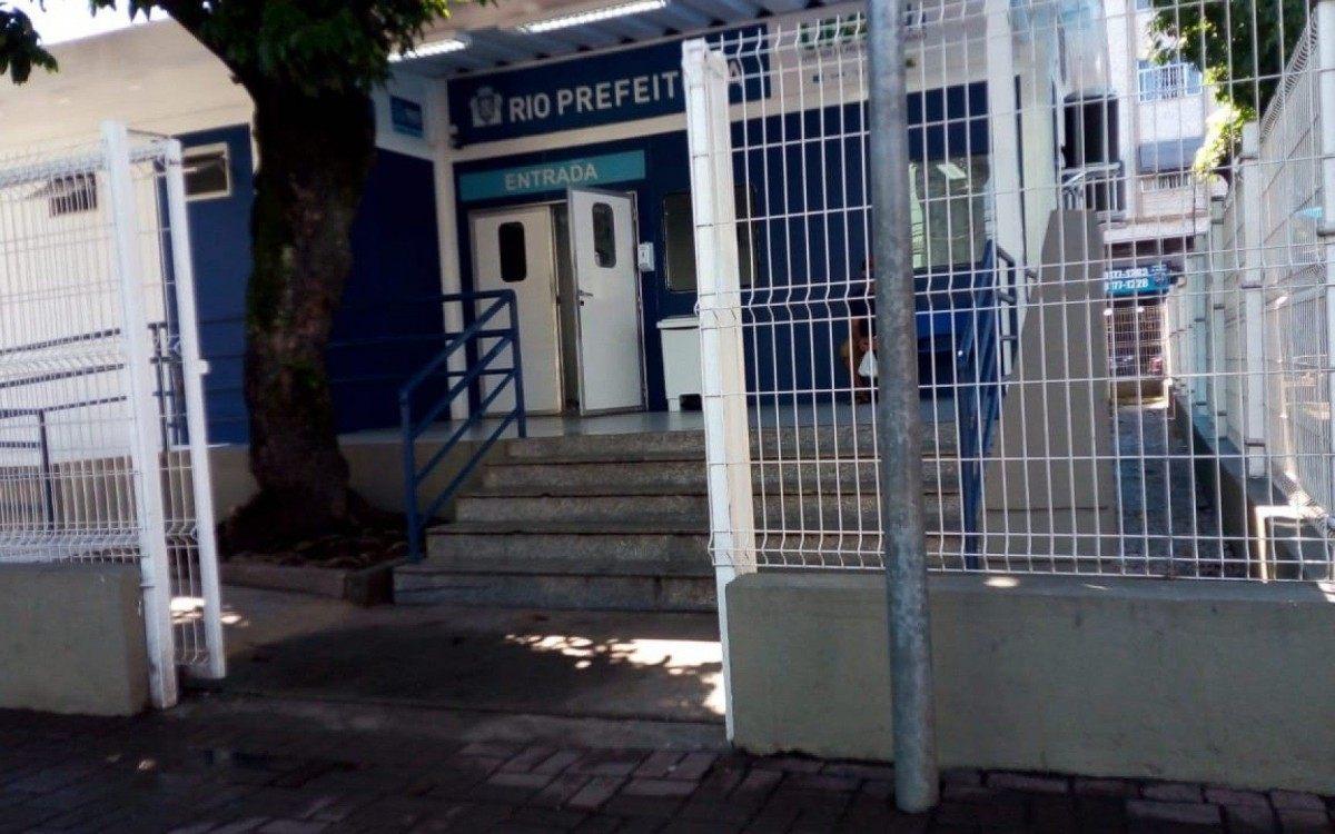 Movimento fraco na UPA Madureira durante a manhã desta terça-feira (30) - Reginaldo Pimenta