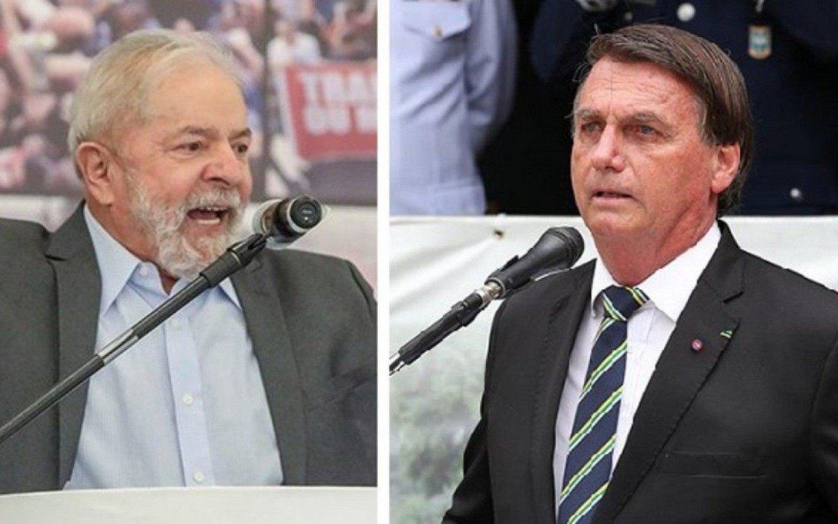 Segundo turno deve ser disputado entre Lula e Bolsonaro, diz pesquisa XP/Ipespe; petista leva vantagem