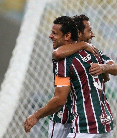 Fluminense x Nova Iguaçu pela 9 rodada do Campeonato Carioca. Gol do Fred