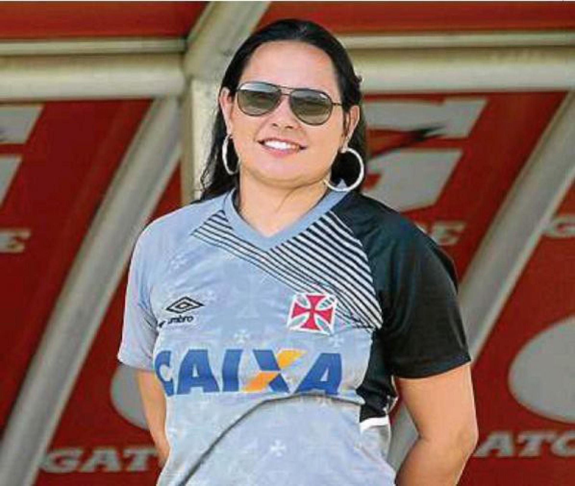 Maíra Ruas é a psicóloga do elenco profissional do Vasco - Rafael Ribeiro/Vasco