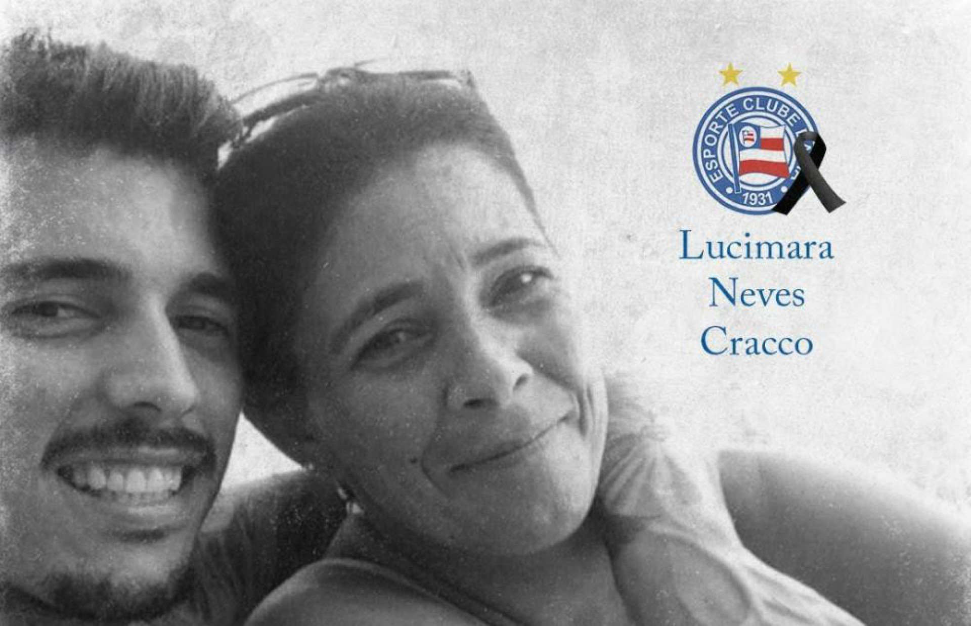 Bahia homenageou a mãe de Zeca no dia do falecimento - Reprodução Bahia