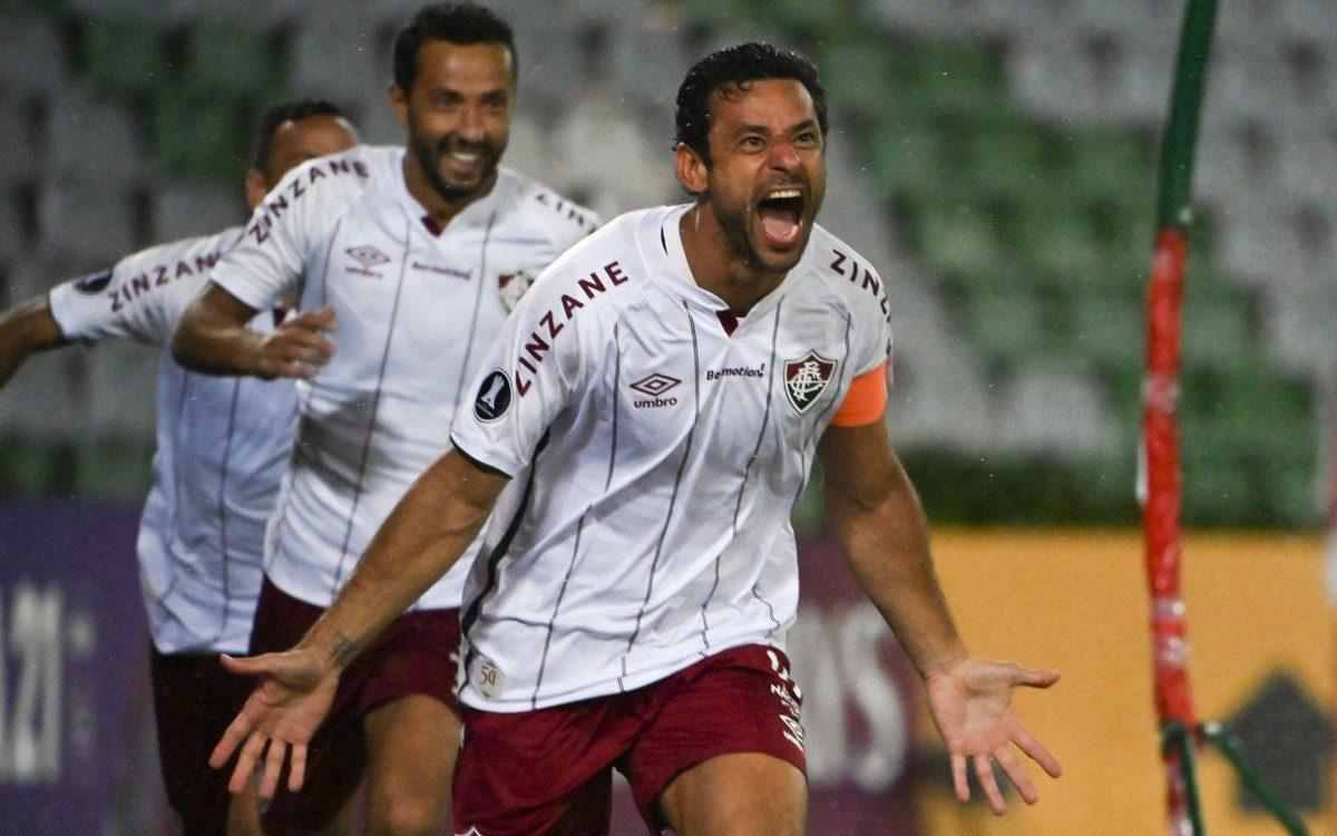 Fred quebra marca, Fluminense leva sufoco no fim mas vence o Santa Fe na  Libertadores | Fluminense | O DIA