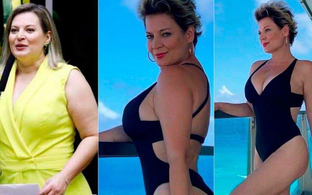 Joice Hasselmann já perdeu 24 quilos