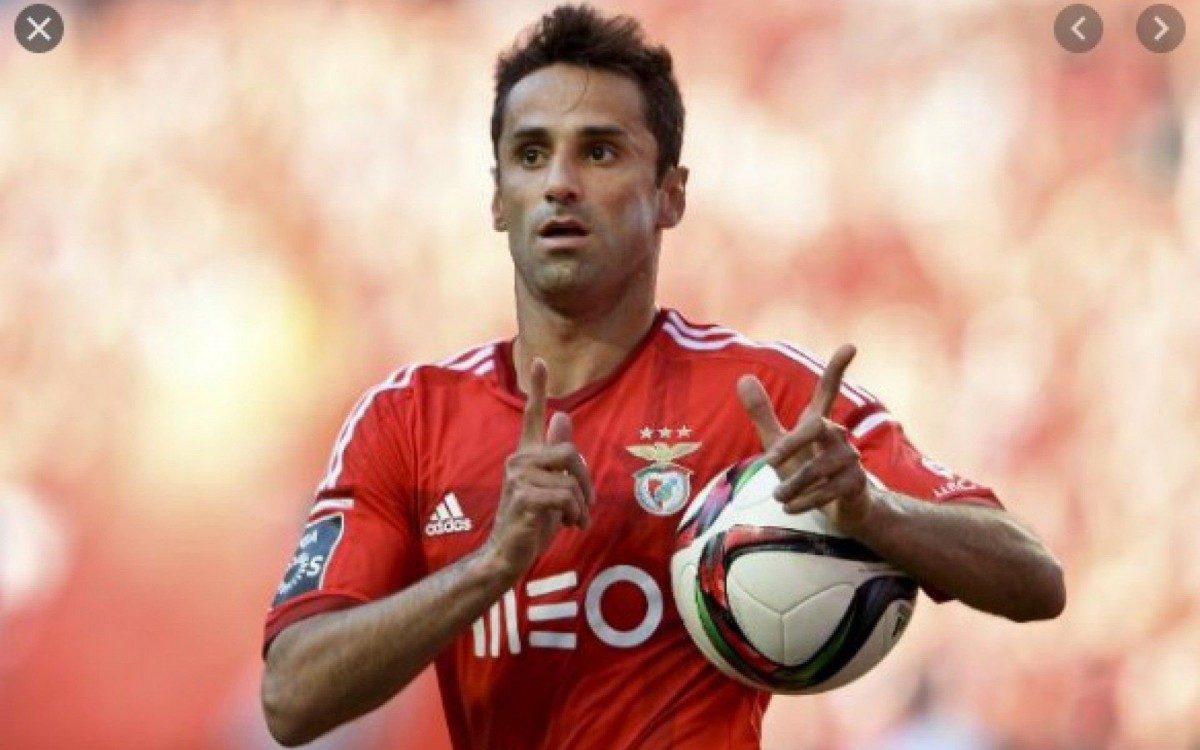 Jonas fez história com a camisa do Benfica