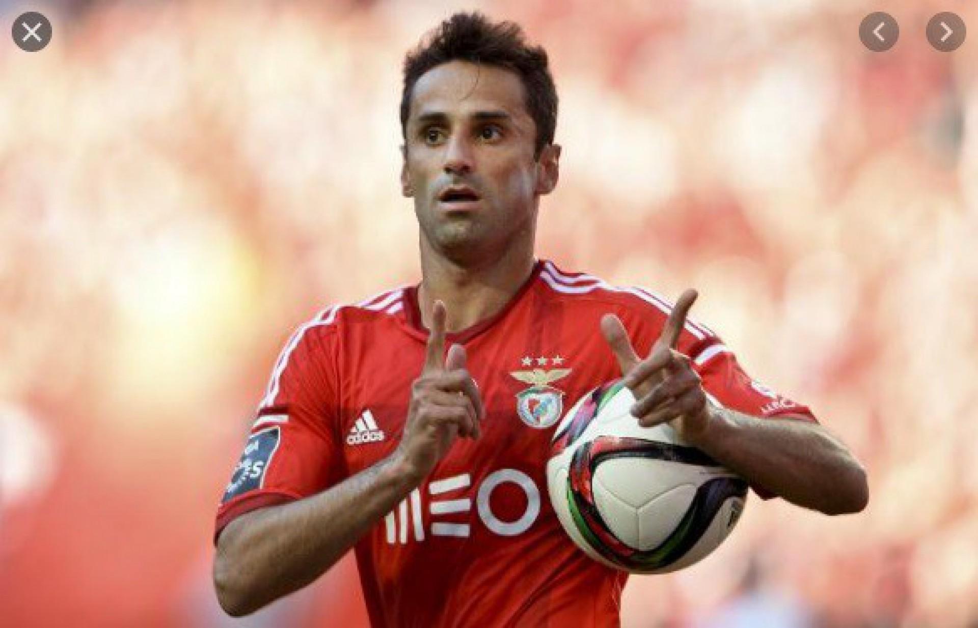 Jonas fez história com a camisa do Benfica - AFP