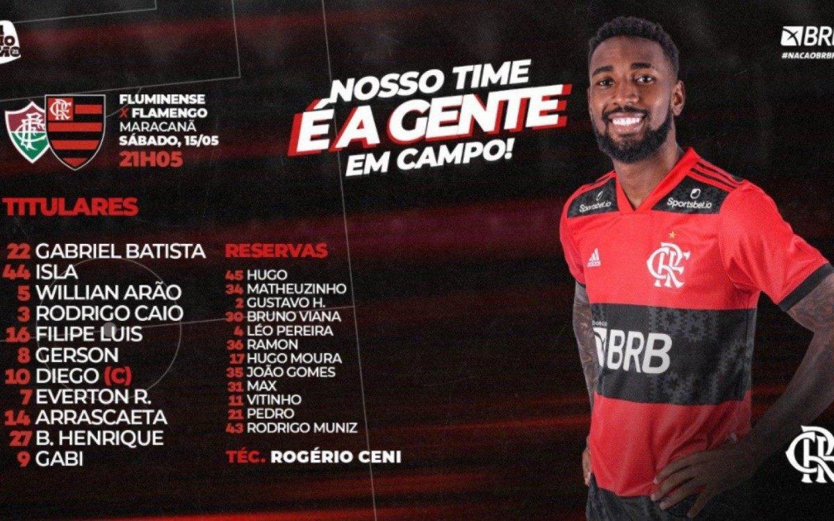Flamengo e Fluminense se enfrentam na final do Carioca