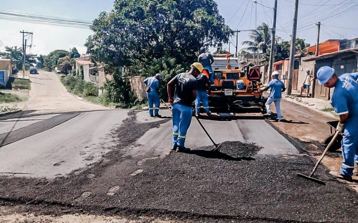 Ruas do bairro Ampliação ganham pavimentação e drenagem   Itaboraí   O Dia