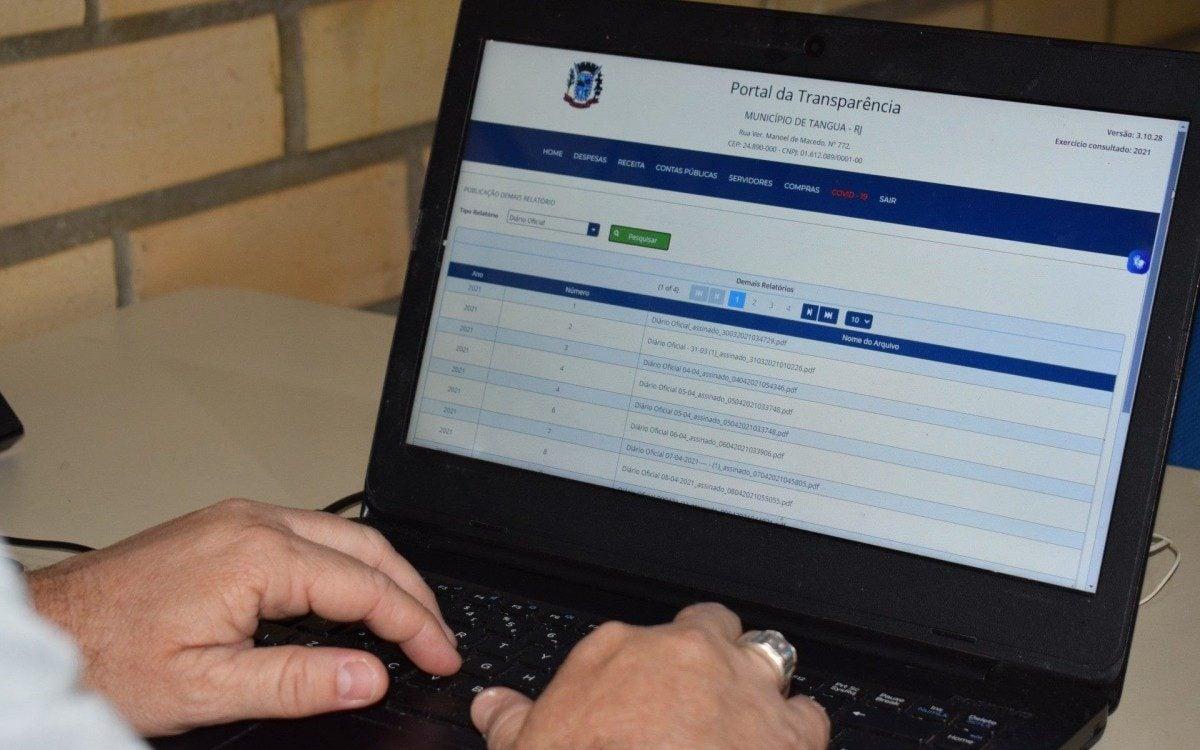 Prefeitura deve economizar mais de 500 mil reais com Diário Oficial  Eletrônico | Tanguá | O Dia