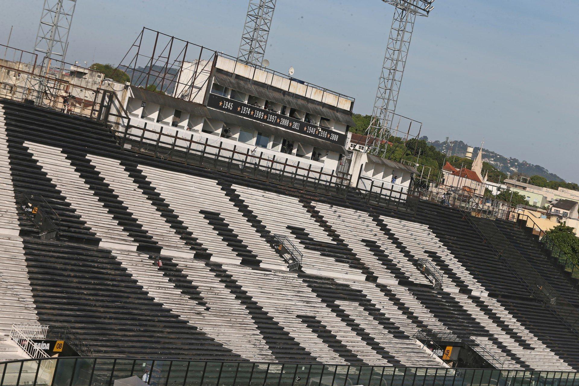 Vasco contabiliza 3.480 ingressos para jogo contra o Goiás
