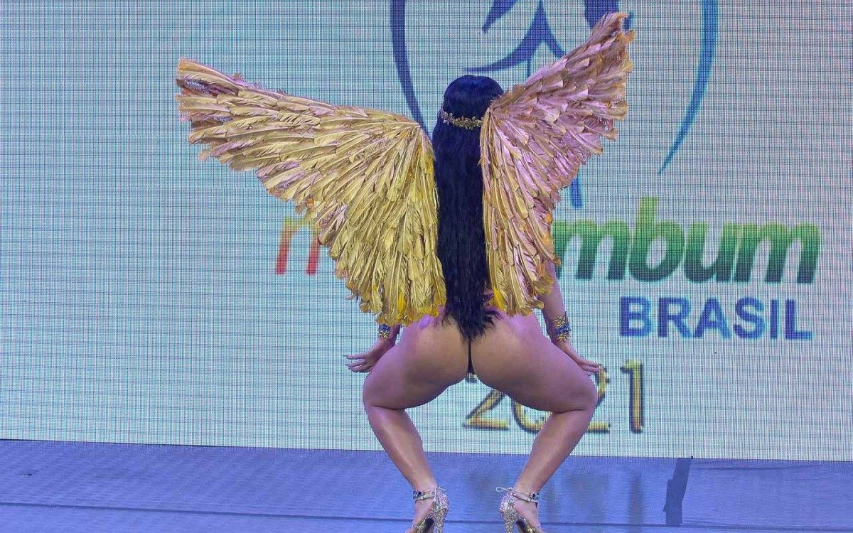 Lunna LeBlanc é a grande vencedora do Miss Bumbum 2021