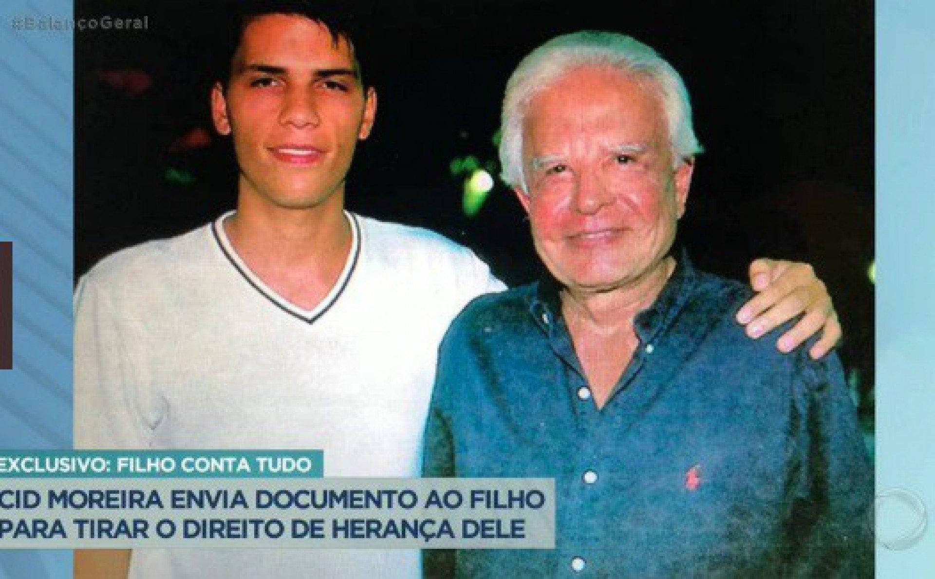 Roger e Cid Moreira - Reprodução