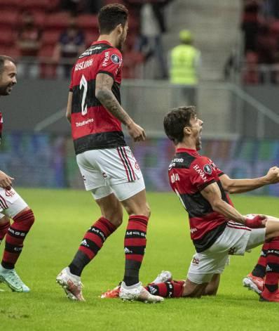 Flamengo x Defensa y Justicia - Copa Libertadores - 21-07-2021 - Foto - Alexandre Vidal