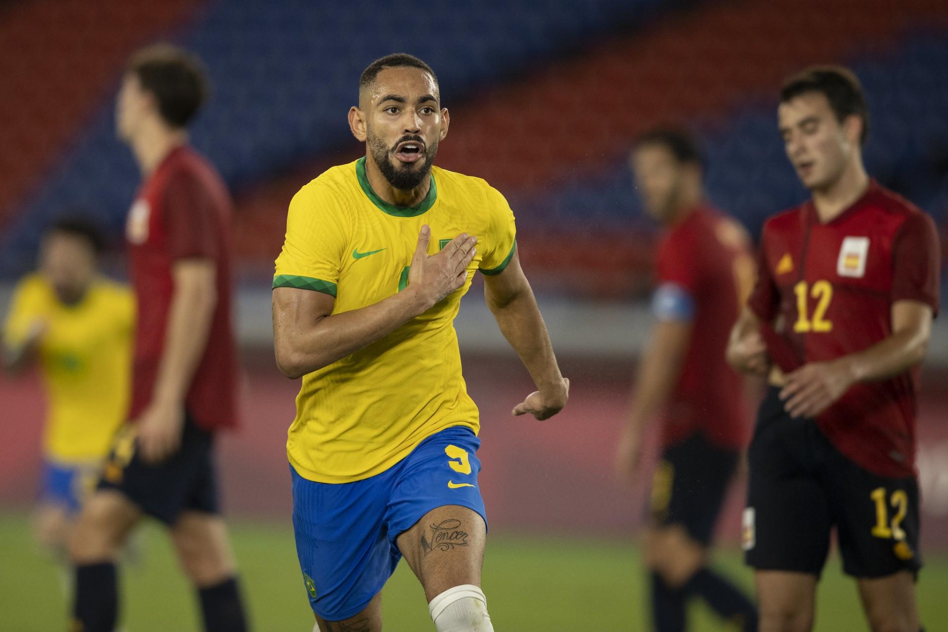 Lesionado, Matheus Cunha é cortado da Seleção para partidas das Eliminatórias