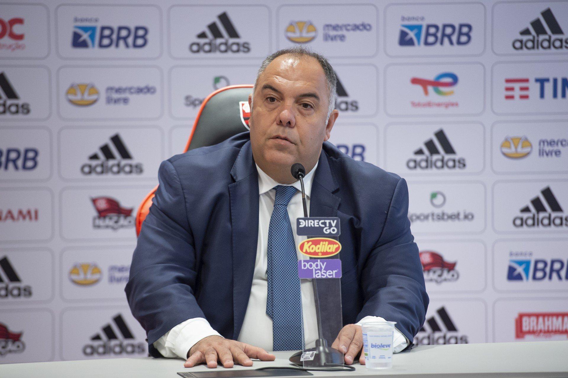 Marcos Braz afirma que Palmeiras é favorito contra o Flamengo em final da Libertadores