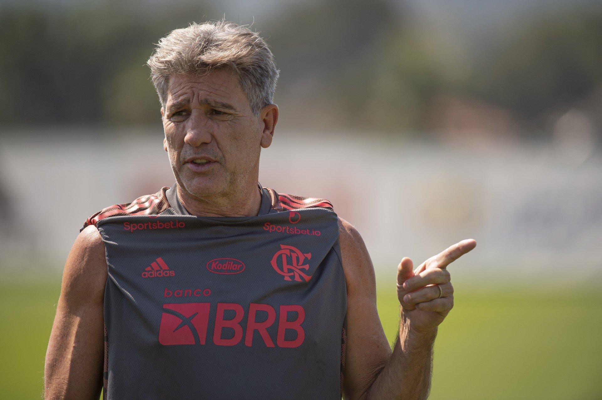 Renato poupa titulares para jogo do Flamengo contra o América-MG