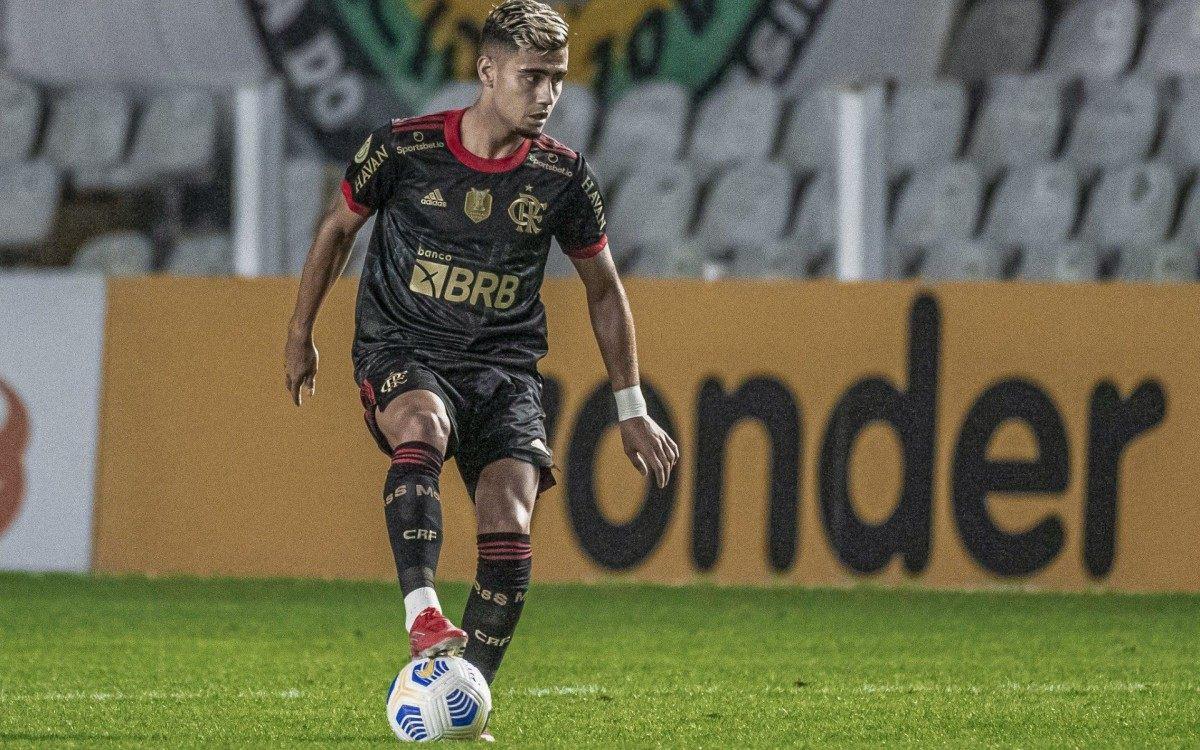 Santos irá à CBF após Andreas Pereira, do Flamengo, jogar sem ter cumprido quarentena